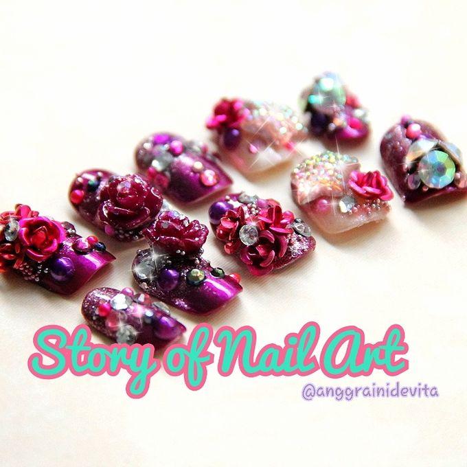 Fake Nails by Story of Nailart - 001