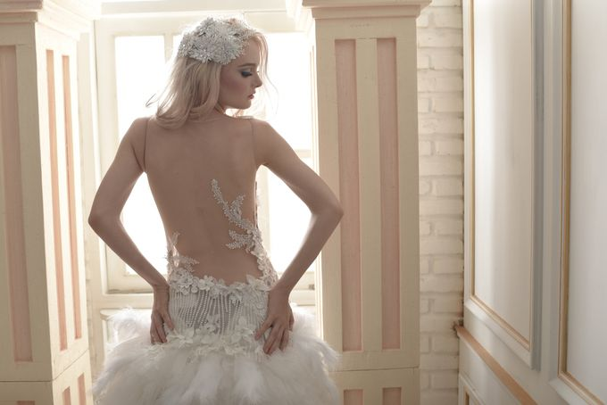 Parisian Fairy by Gazelle Brides - 018