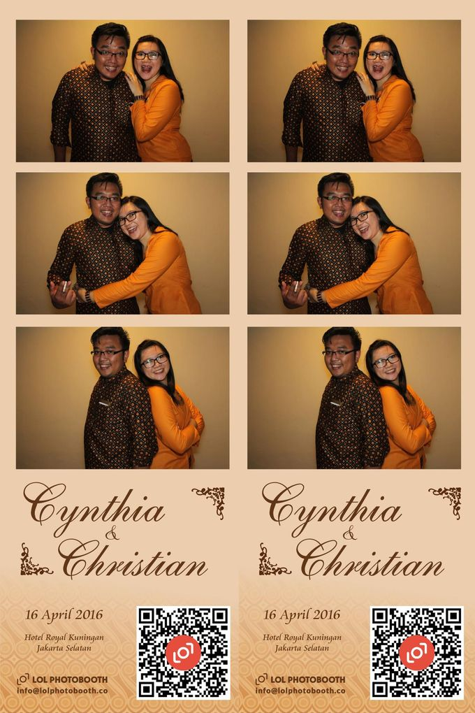 Wedding of C & C by lolphotobooth.co - 002