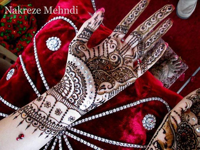 Zardosi Mehndi by Nakreze Mehndi - 005