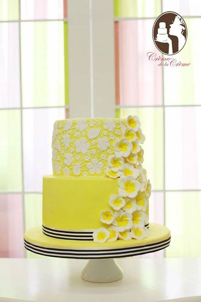 Summer Love Citrus Wedding Cake & Dessert Table by Creme de la Creme ...