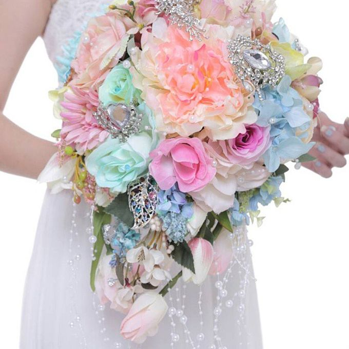 ENCHANTED WEDDING BOUQUET by LUX floral design - 021