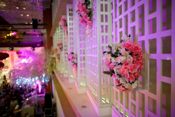 Ballroom Decorated by Thamrin Nine Ballroom - 011