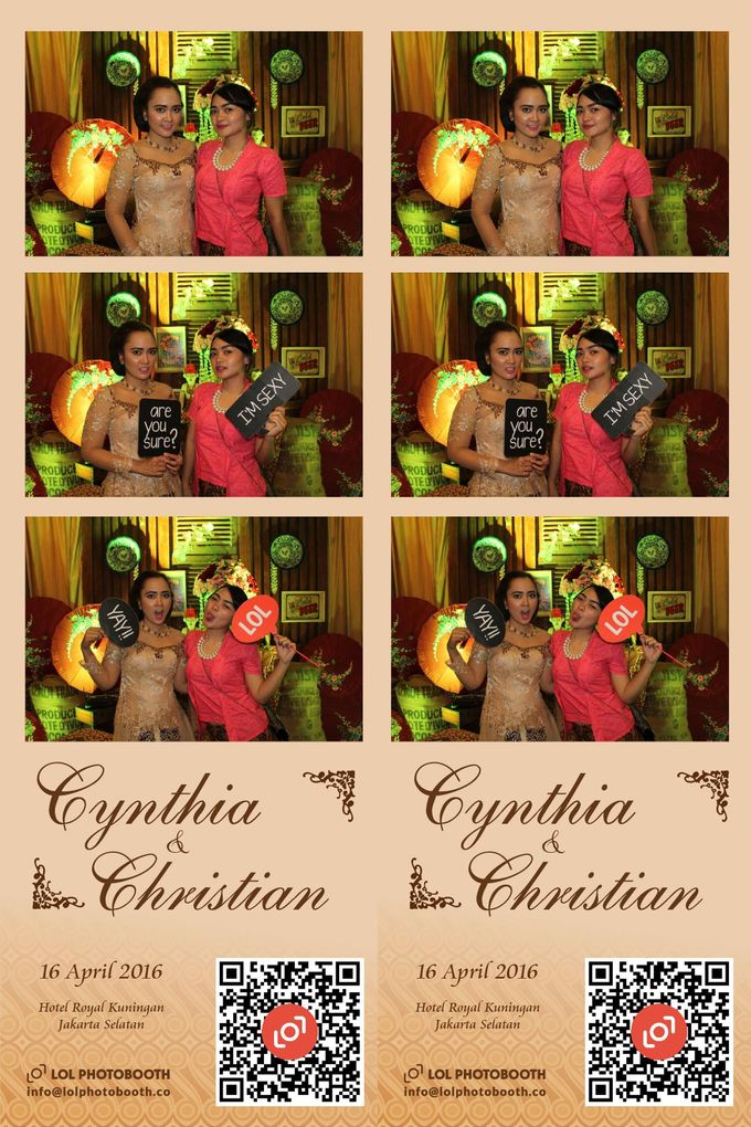 Wedding of C & C by lolphotobooth.co - 009