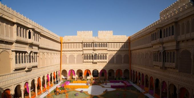 wedding at jaisalmer by Yesha Weddings Destination Wedding Planner - 009