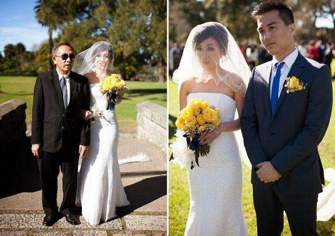Sunshine outdoor wedding by SS Florist - 009