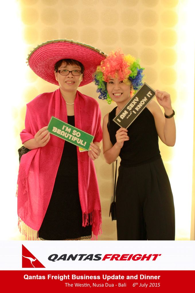 Qantas Freight Business Update and Dinner by Happy Moment PhotoBooth - 001