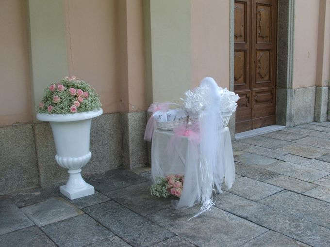 Romantic light pink wedding by Sogni Confettati - 018