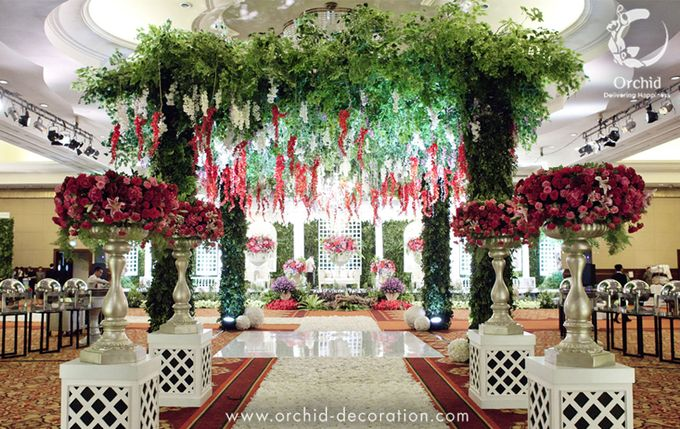 Life began in a garden by Orchid Florist and Decoration - 010