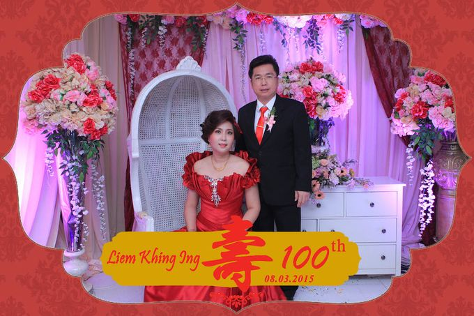 One Hundred Birthday of Liem Khing Ing by After 5 Photobooth - 001