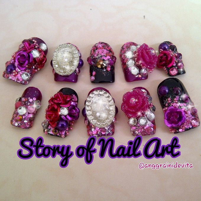 Fake Nails by Story of Nailart - 015