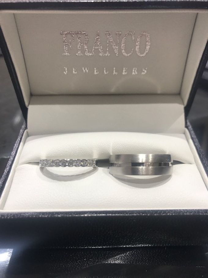 His and Her bespoke Wedding Sets by Franco Jewellers - 002