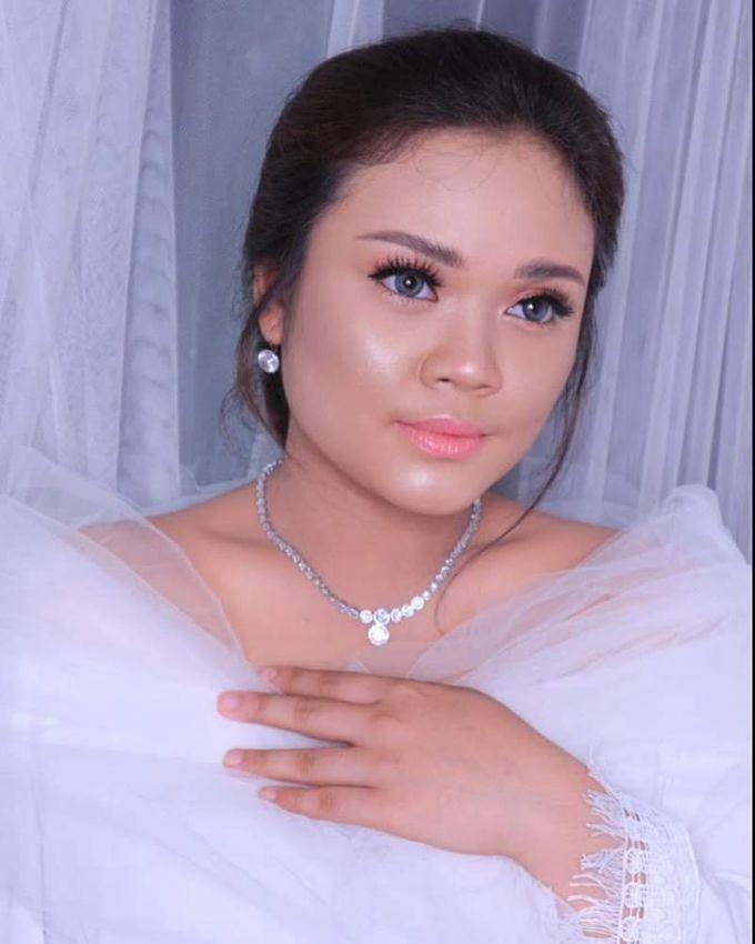 International Bride Make Up .  Ms. debora by Pangestwury MakeOver - 005
