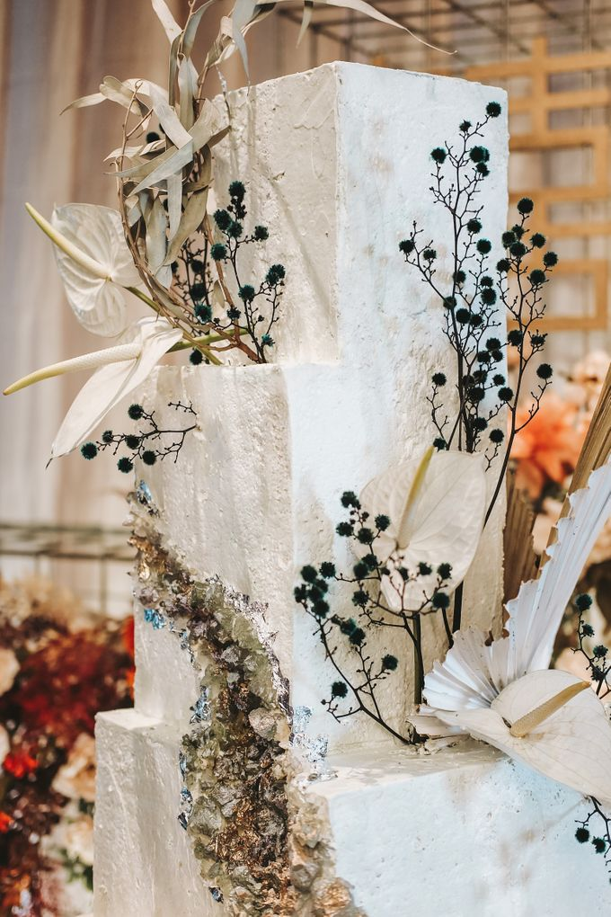This Wedding is made intimate but not just that, every single details made personal to the bride and groom. In the midst of the pandemic, we understan by KAIA Cakes & Co. - 015