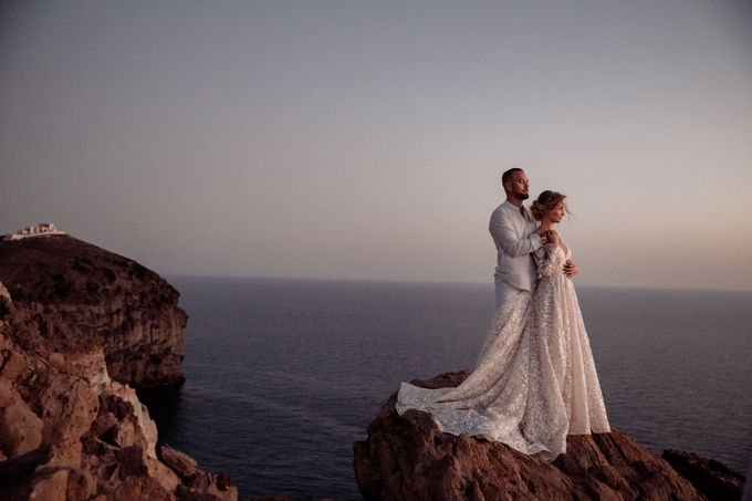 This is a wedding story about a beautiful couple in an incredible corner of the earth. The newlyweds have chosen a beautiful place to hold their weddi by Miller Photography - 040