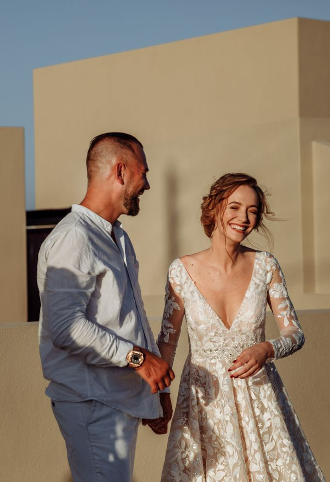 This is a wedding story about a beautiful couple in an incredible corner of the earth. The newlyweds have chosen a beautiful place to hold their weddi by Miller Photography - 021