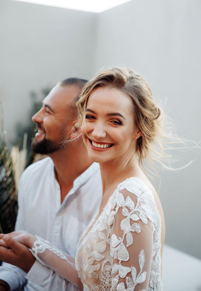 This is a wedding story about a beautiful couple in an incredible corner of the earth. The newlyweds have chosen a beautiful place to hold their weddi by Miller Photography - 034