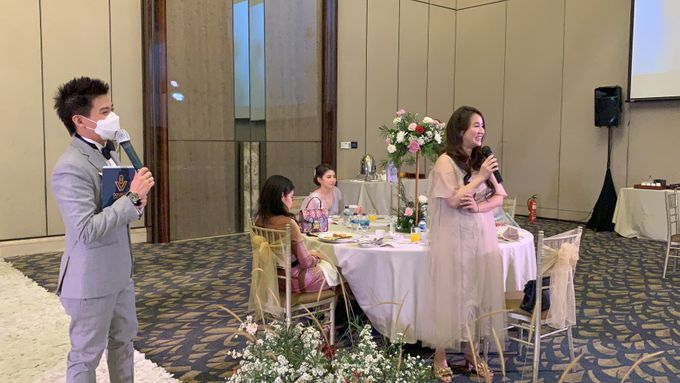 New Normal Wedding Jazz Entertainment at Sheraton Jakarta - Double V entertainment by LeNovelle Cake - 013