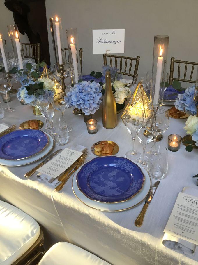 A blue wedding by C&G Wedding and Event Designer - 012