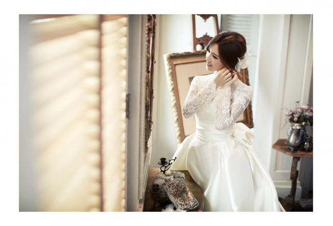 beautiful in white by Inistar (아이니스타) - 009