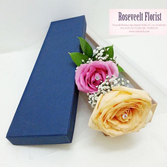 Flower in a Box Arrangement by Roseveelt Florist - 012