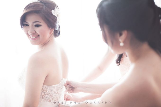 Alvin & Novi Wedding Day by Okeii Photography - 003