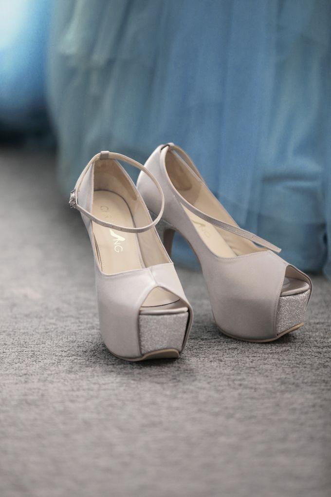 Bridal Shoe Close Ups by Christy Ng Shoes - 023