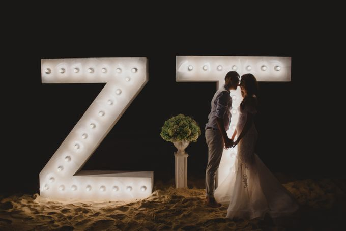 Beach Wedding Dream by Aisle Project - 007