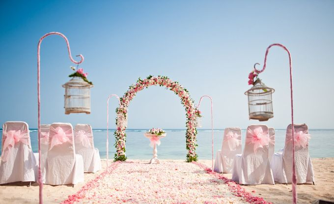 Beach Wedding by Samabe Bali Suites & Villas - 001
