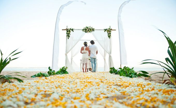 Beach Wedding by Samabe Bali Suites & Villas - 002