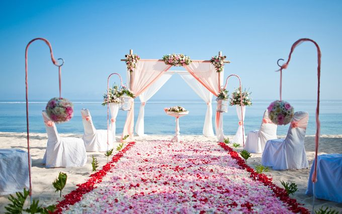 Beach Wedding by Samabe Bali Suites & Villas - 005