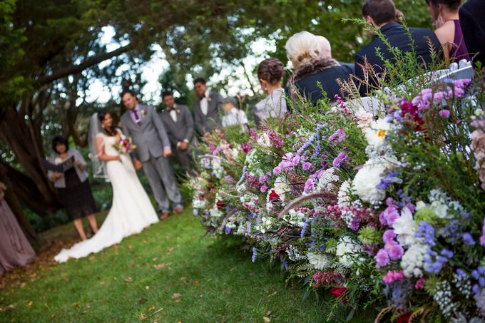 Ceremony and Reception by Affair with George  Florals & Event Styling - 025