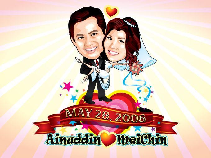 Wedding Caricature by littlebitmoar.com - 003