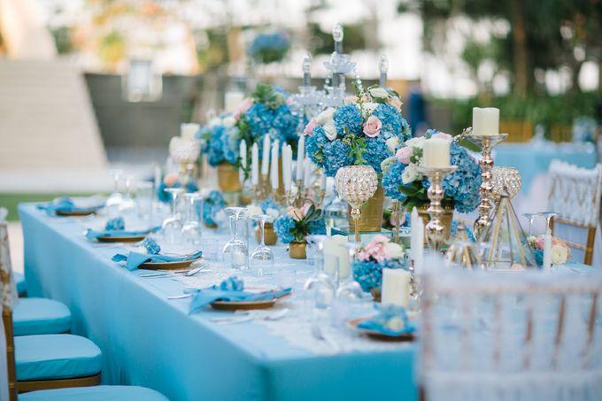 The Wedding of Gwen & Vernon by Precious Event Design - 001
