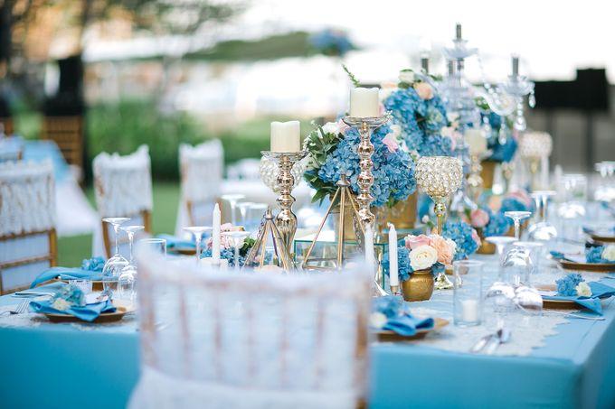 The Wedding of Gwen & Vernon by Precious Event Design - 002