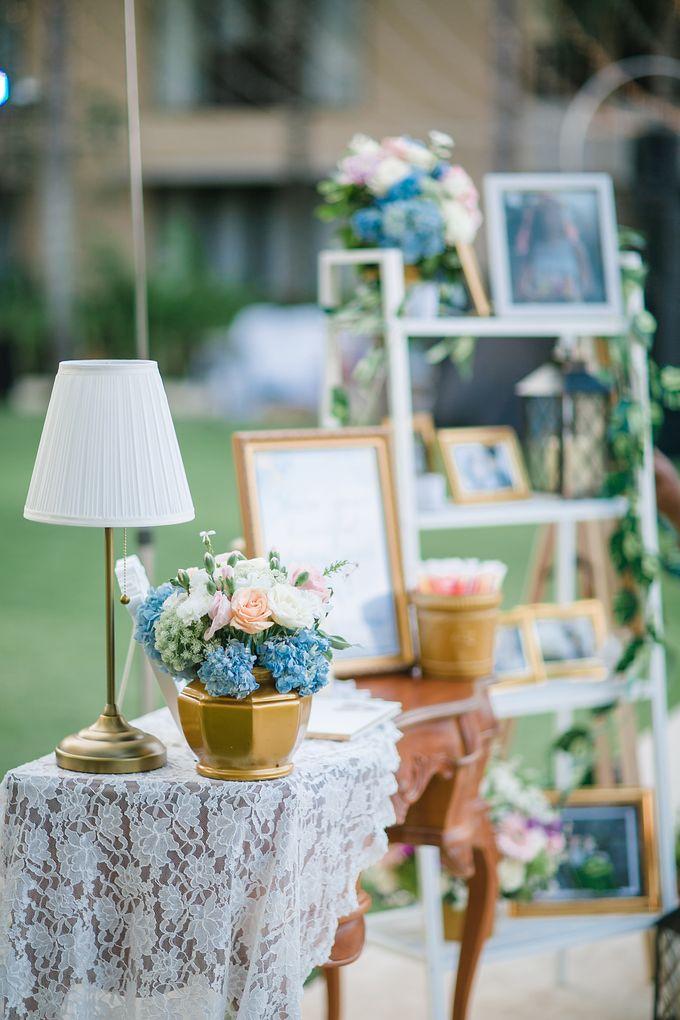 The Wedding of Gwen & Vernon by Precious Event Design - 003