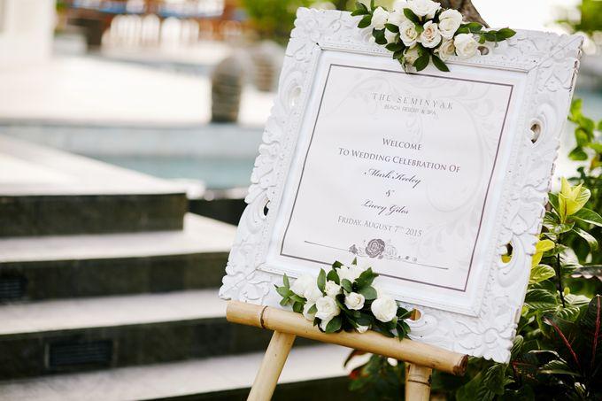 Mark & Lacey Wedding by The Seminyak Beach Resort & Spa - 001