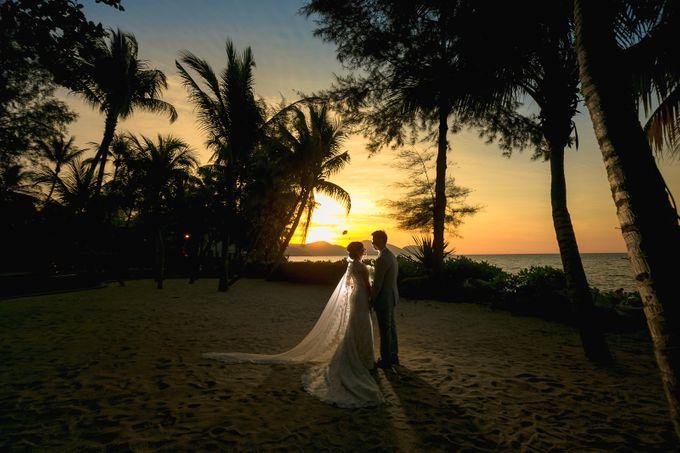 Wedding by the Beach by Shangri-La Rasa Sayang Resort - 010