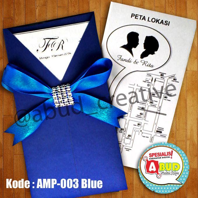 Elegant Ribbon Invitation by Abud Creative Design - 002