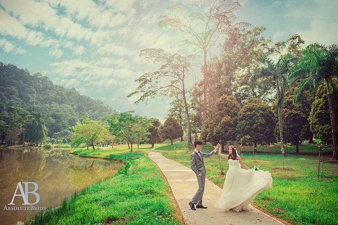 Pre-wedding Shoot Derrick & Fiona by ABSOLUTE BRIDE - 004