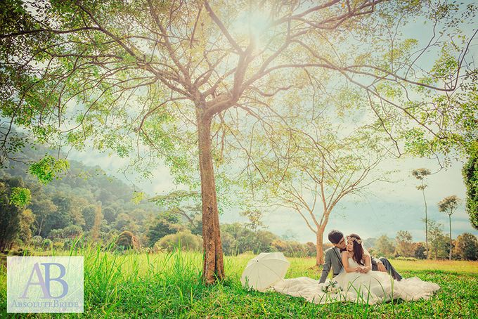Pre-wedding Shoot Derrick & Fiona by ABSOLUTE BRIDE - 005