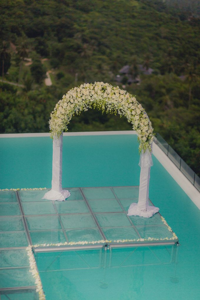 Over Water Wedding by Dream Asia Weddings - 013
