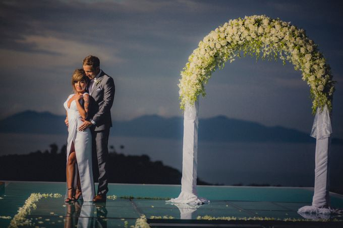 Over Water Wedding by Dream Asia Weddings - 015