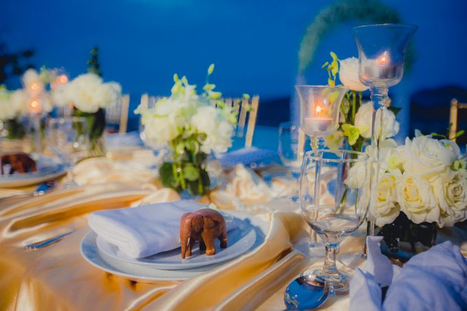 Over Water Wedding by Dream Asia Weddings - 023