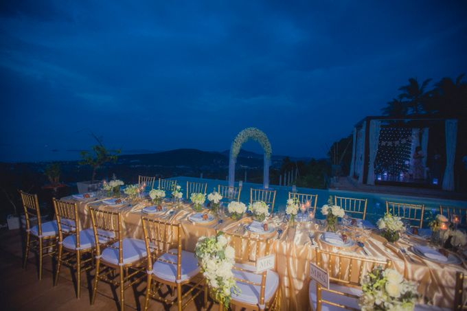 Over Water Wedding by Dream Asia Weddings - 017