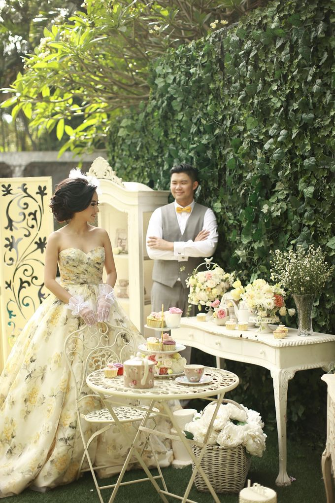 Antoinette High Tea Party by GV by Gabriella Vania - 005