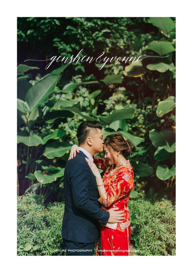 Celebrating GenShen & Yvonne by Shangri-La Hotel Singapore - 002