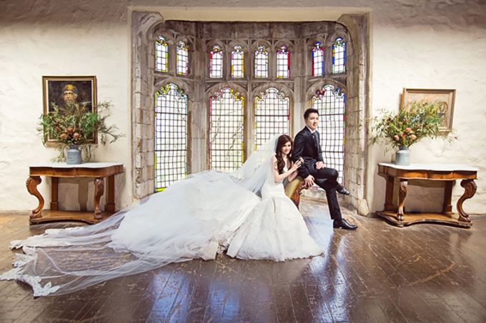 Bobby and Ruth concertlike wedding and dreamy Prewedding by Wong Hang Distinguished Tailor - 001