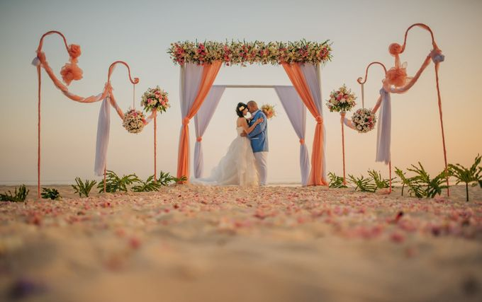 Beach Wedding by Samabe Bali Suites & Villas - 003