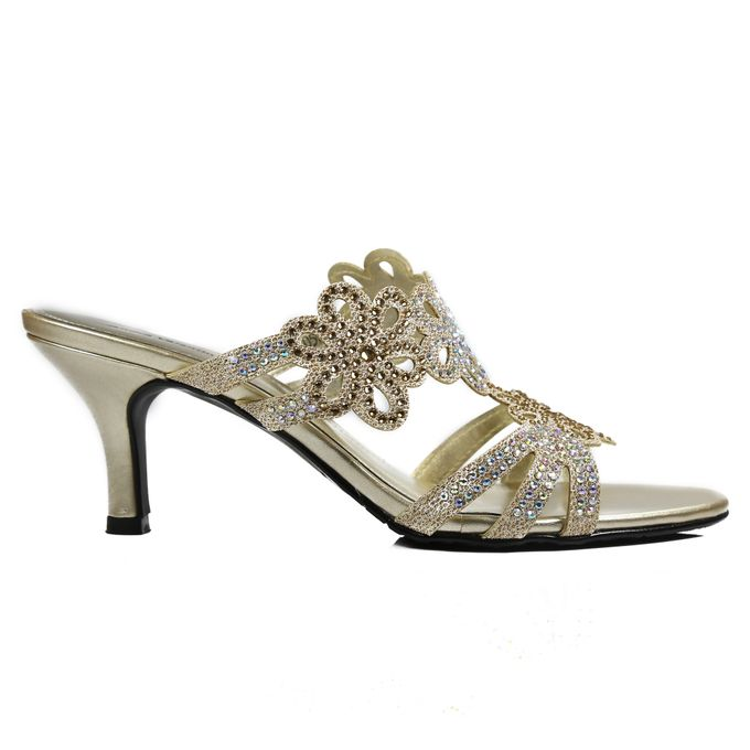 Middle Heels by Andre Valentino Bridal Shoes - 011